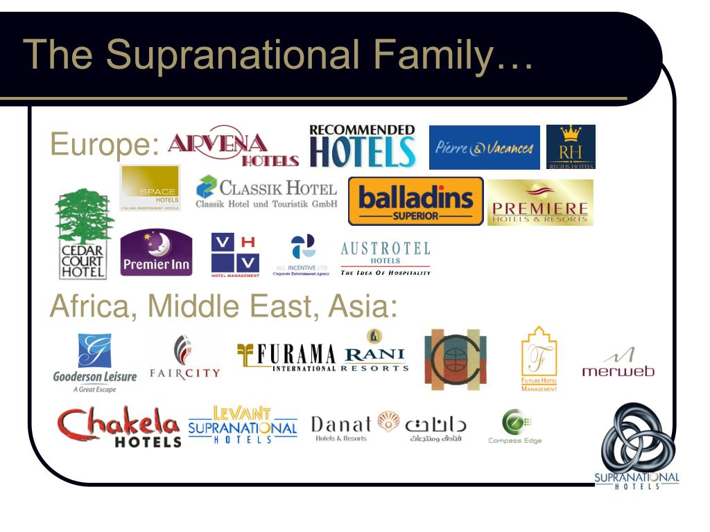 The Supranational Family…