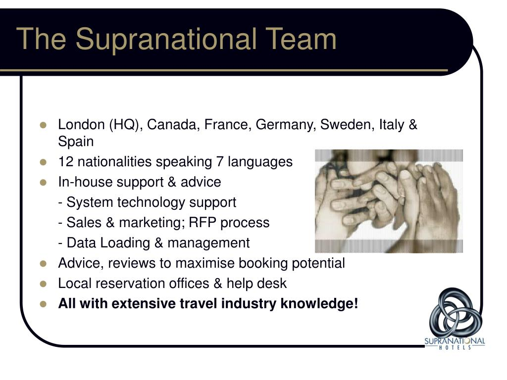The Supranational Team