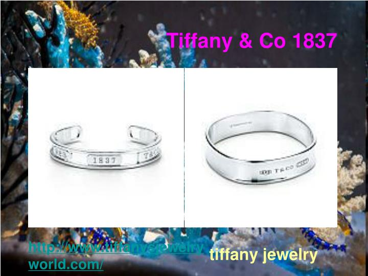Tiffany & Co 1837