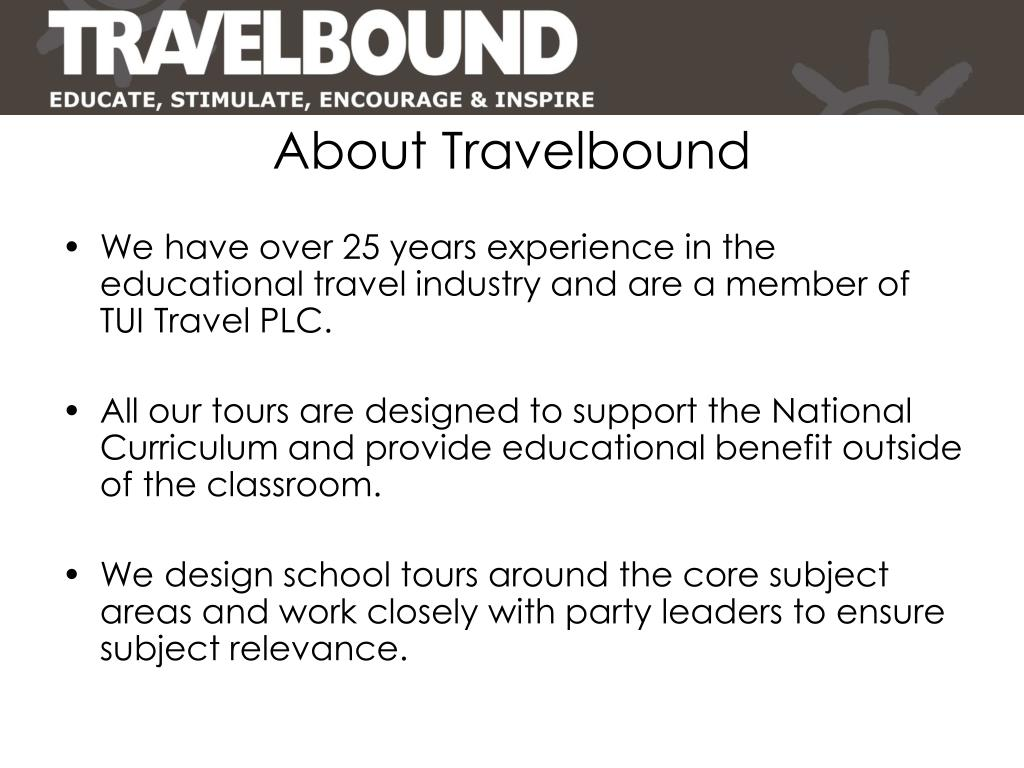 About Travelbound