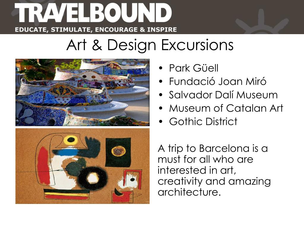 Art & Design Excursions