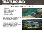 recreational excursions