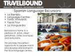 spanish language excursions