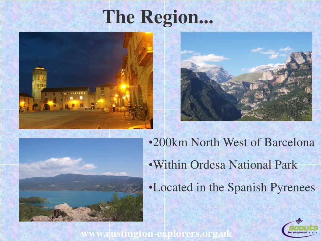 The Region...