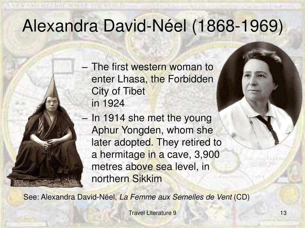 Alexandra David-Néel (1868-1969)