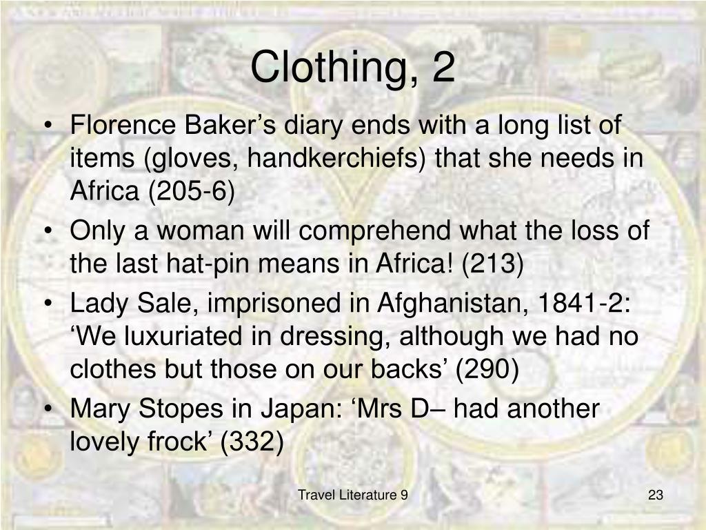 Clothing, 2