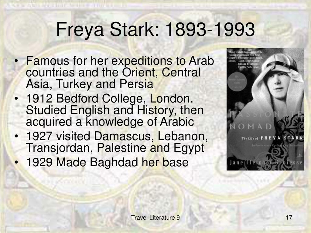 Freya Stark: 1893-1993