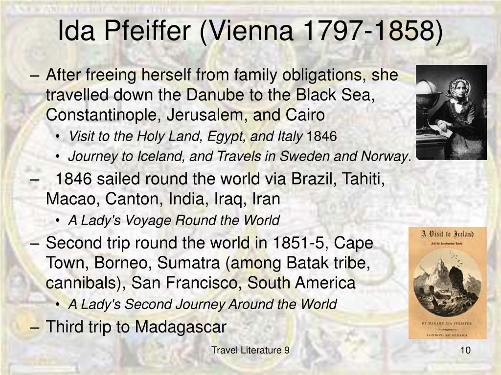 Ida Pfeiffer (Vienna 1797-1858)