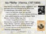 ida pfeiffer vienna 1797 1858