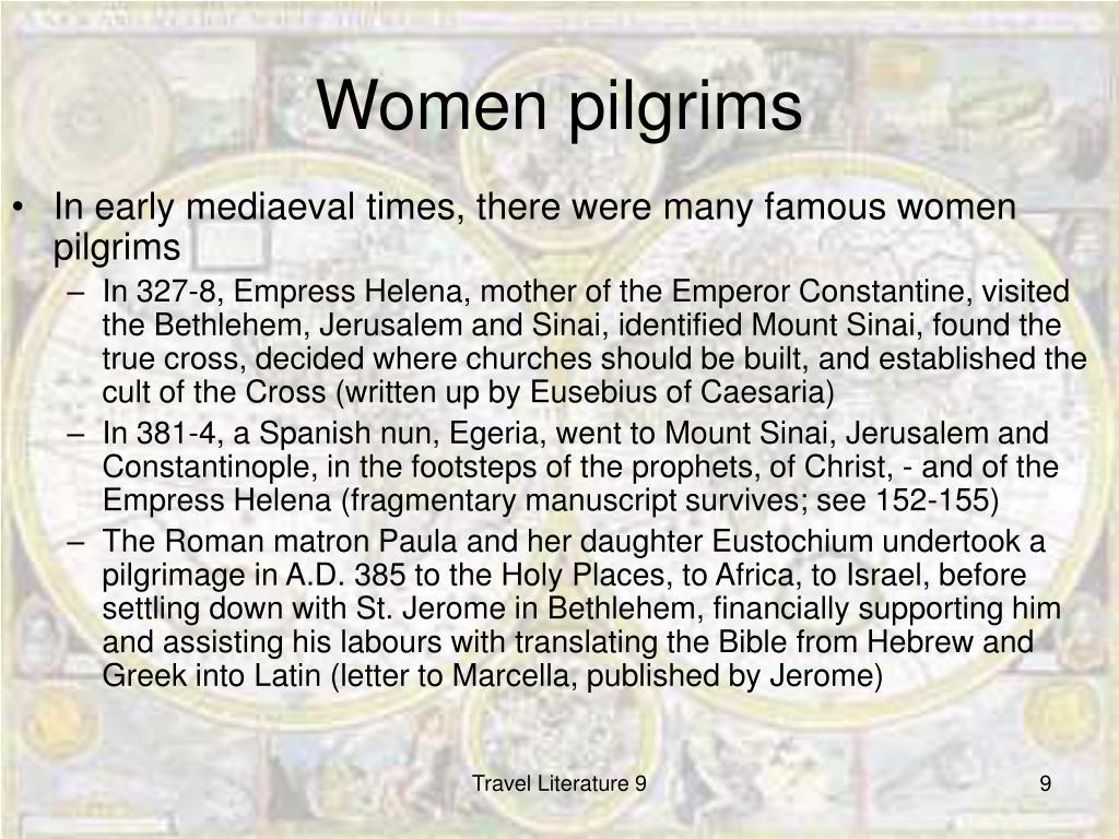 Women pilgrims