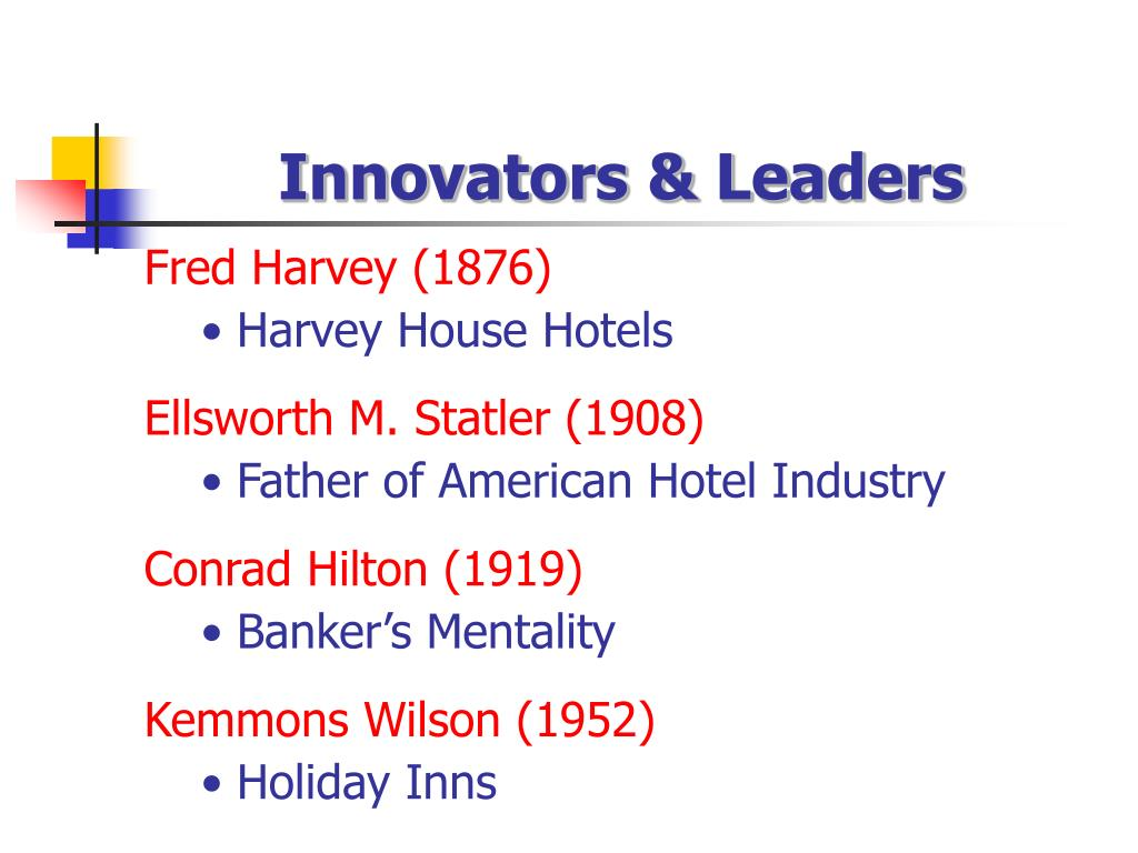 Innovators & Leaders