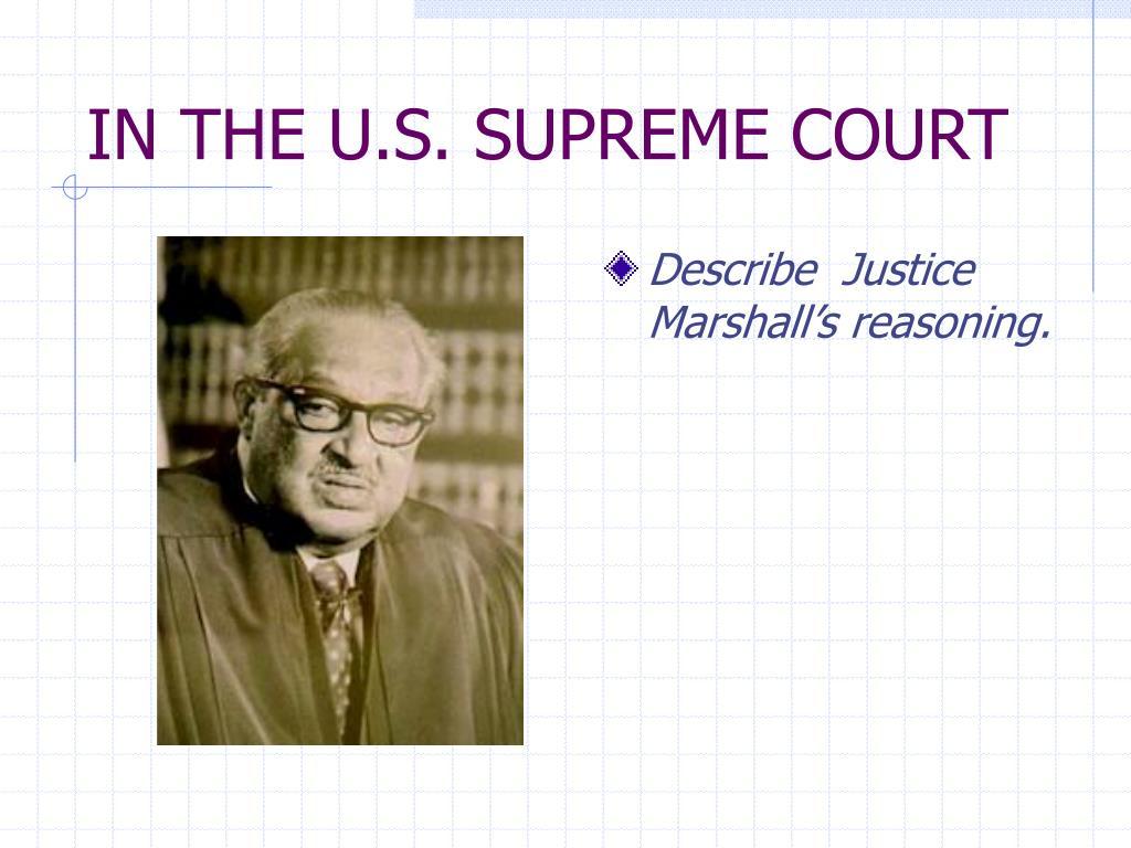 IN THE U.S. SUPREME COURT