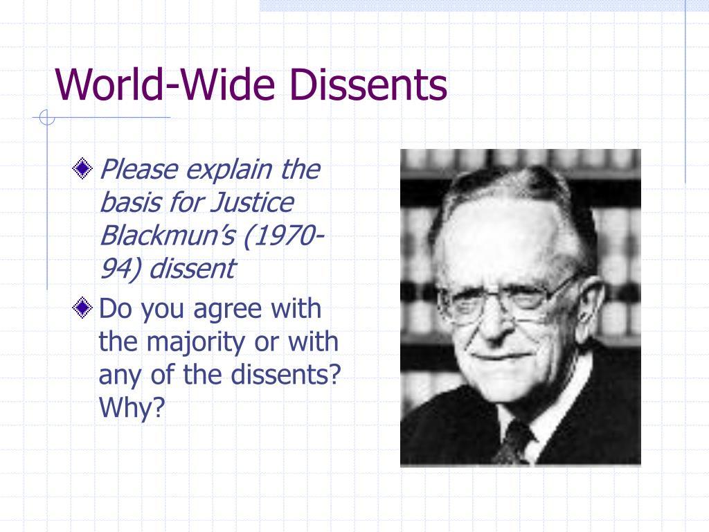 World-Wide Dissents