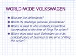world wide volkswagen