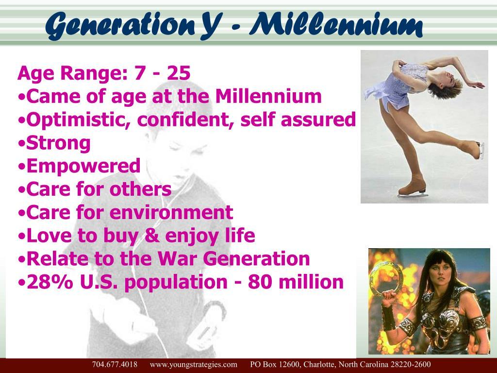 Generation Y - Millennium