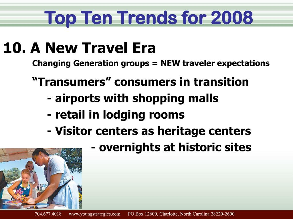 Top Ten Trends for 2008