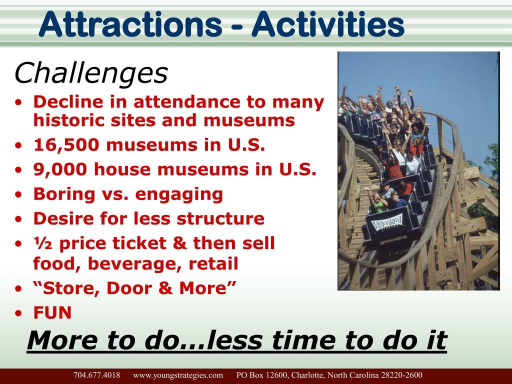 Attractions - Activities