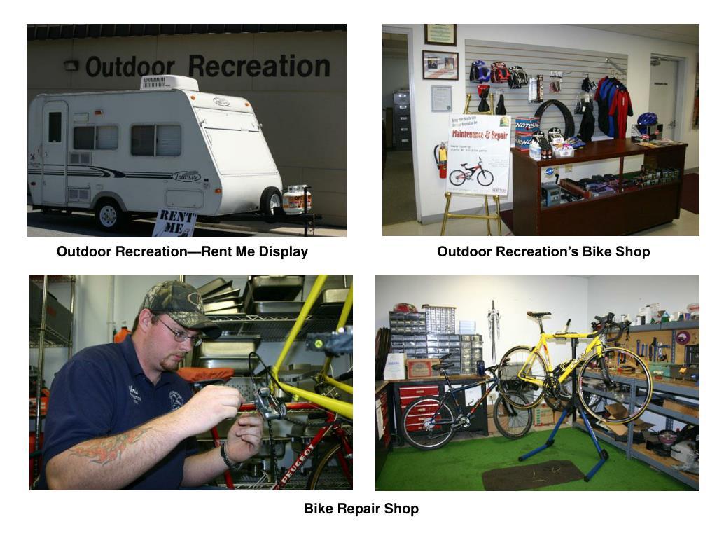 Outdoor Recreation—Rent Me Display