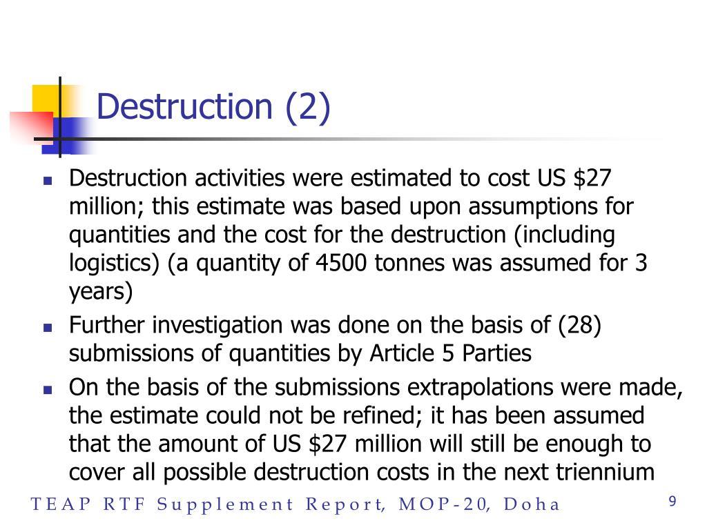 Destruction (2)