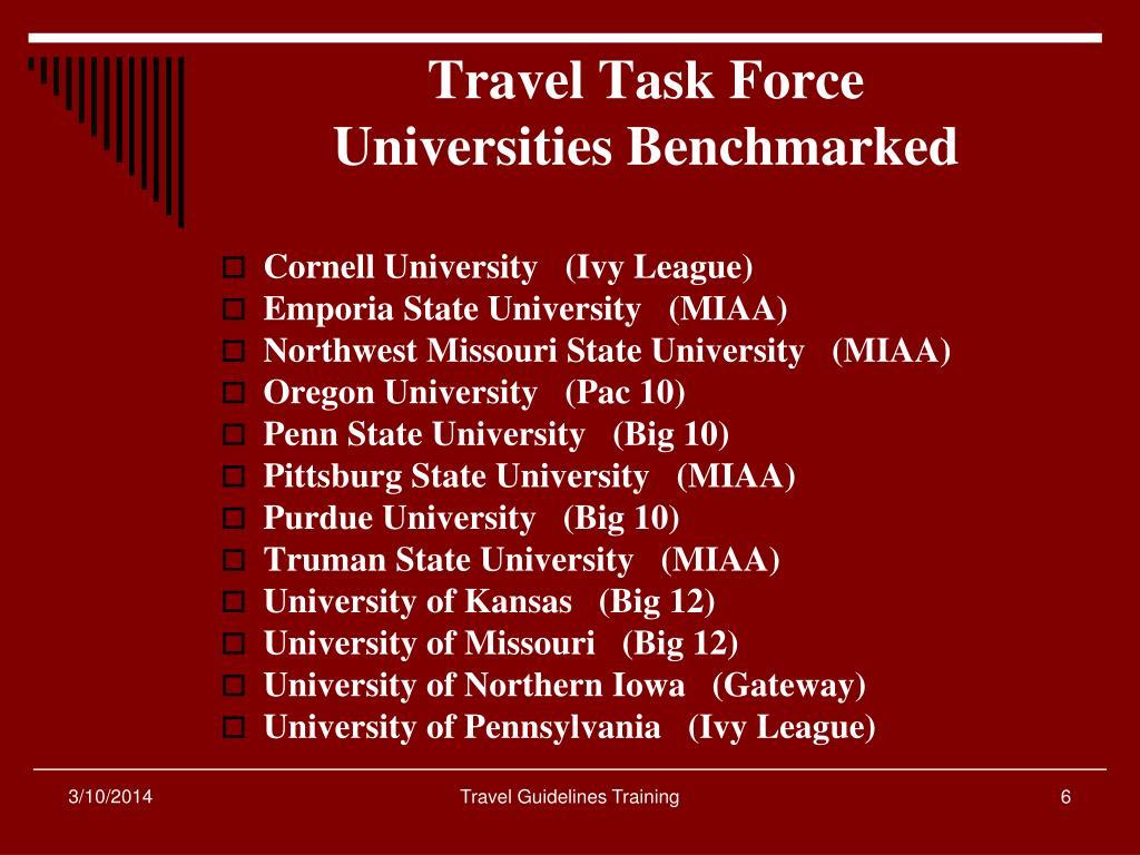 Travel Task Force