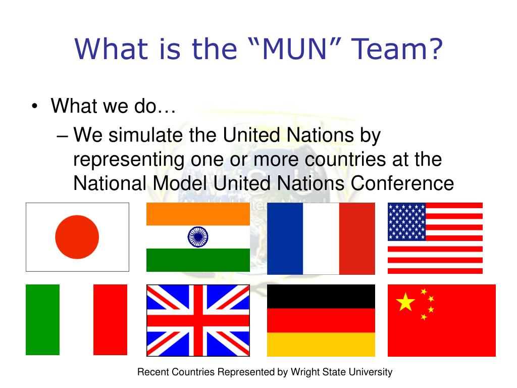 "What is the ""MUN"" Team?"