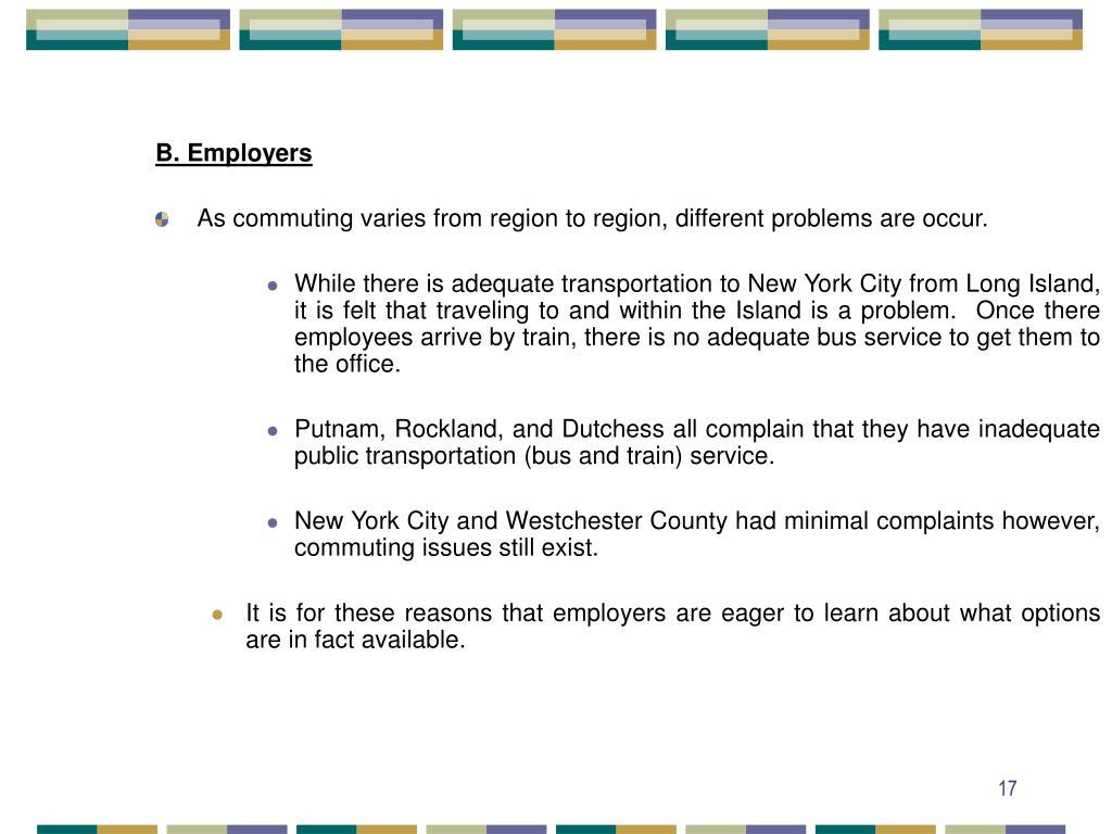 B. Employers