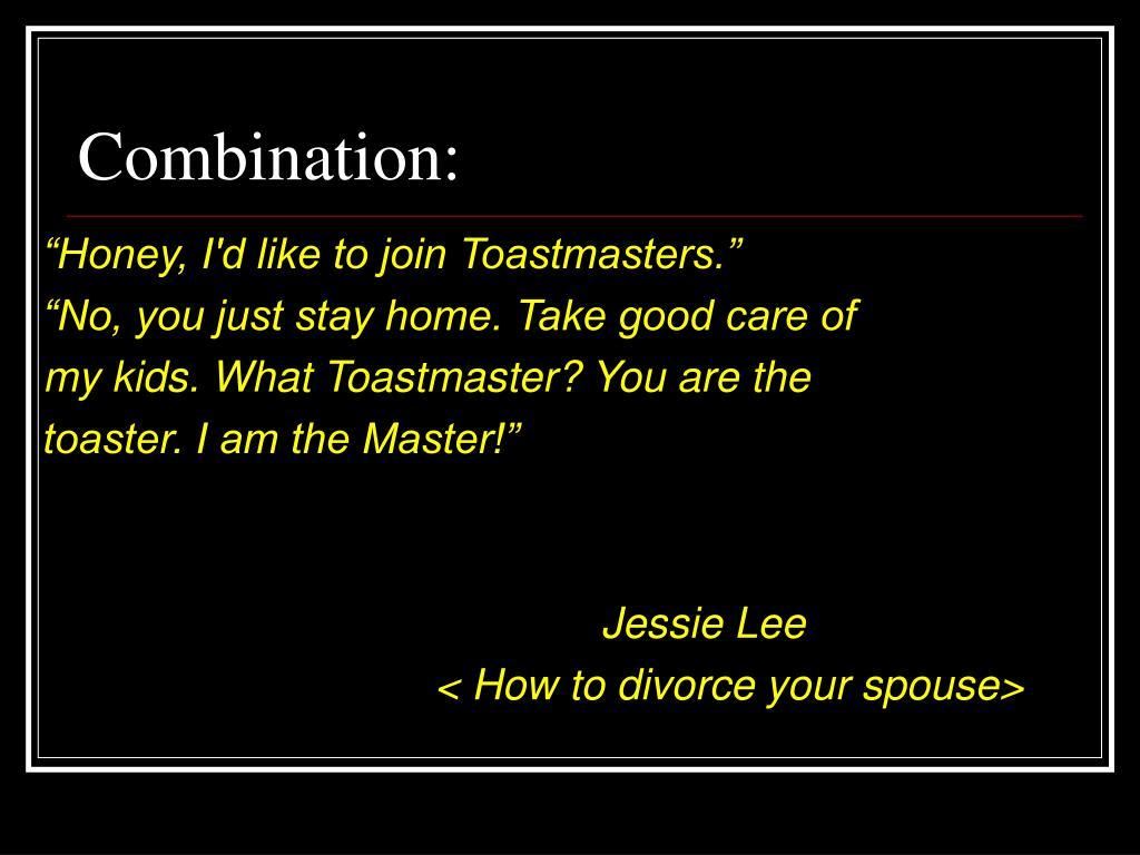 Combination: