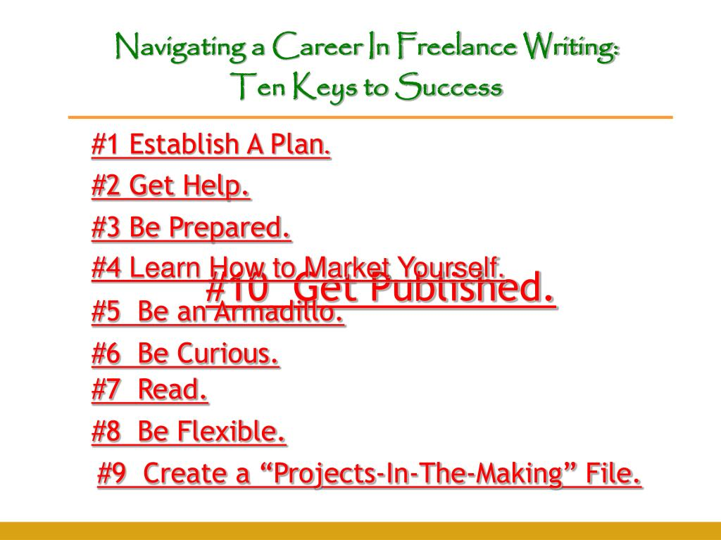 Navigating a Career In Freelance Writing: