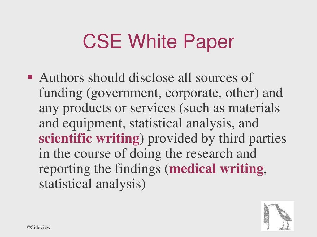 CSE White Paper