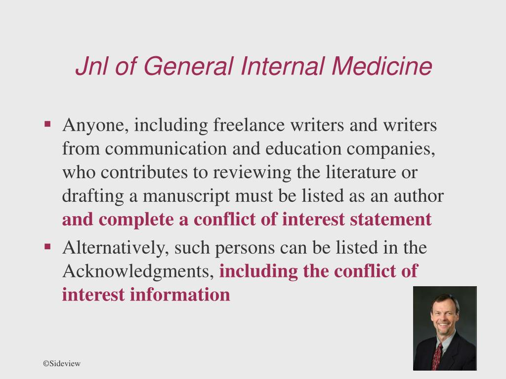 Jnl of General Internal Medicine