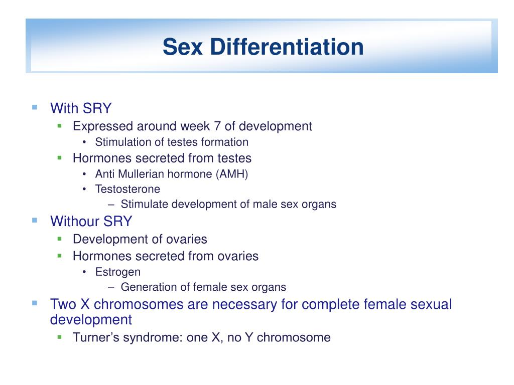 Sex Differentiation