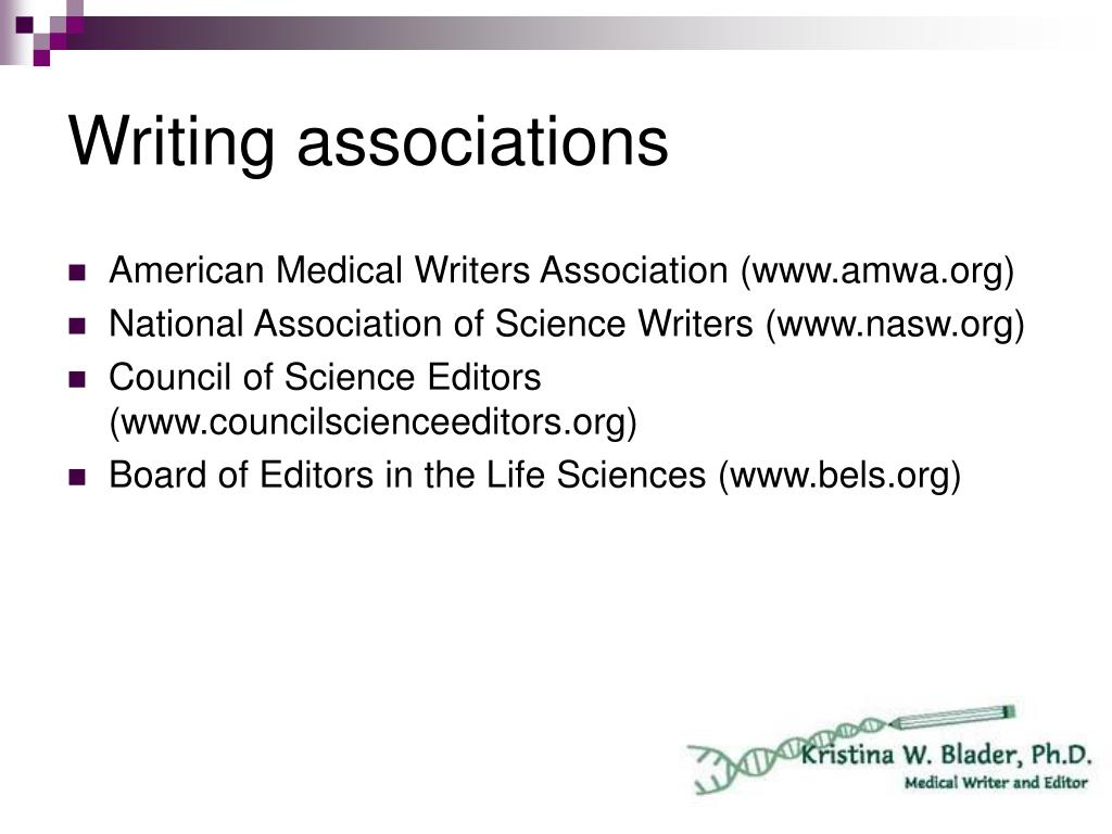 Writing associations