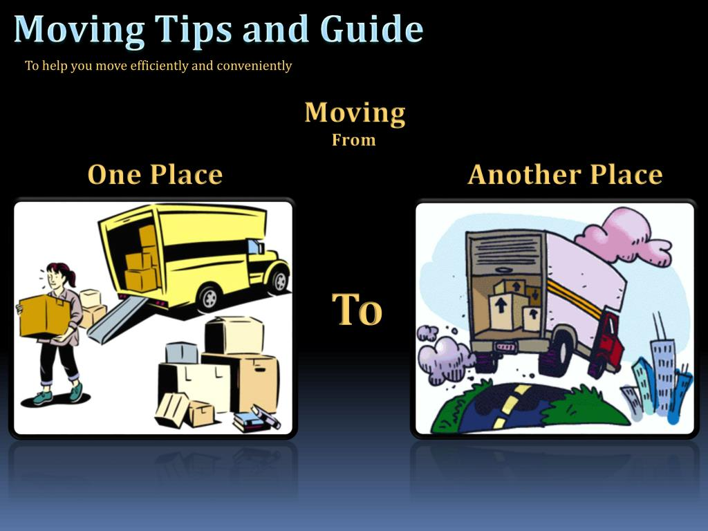 Moving Tips and Guide