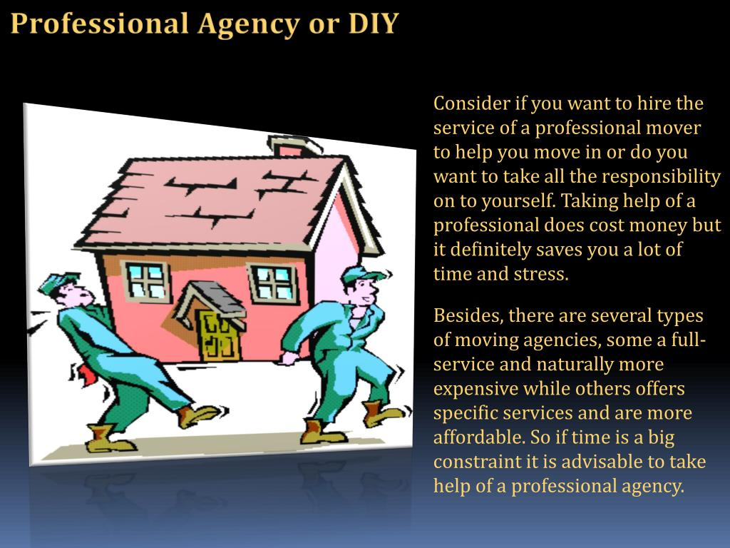 Professional Agency or DIY