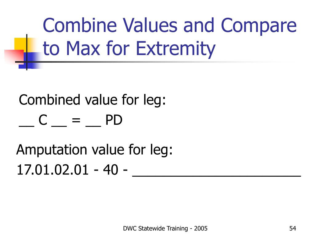 Combine Values and Compare to Max for Extremity