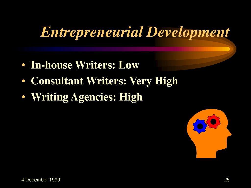 Entrepreneurial Development