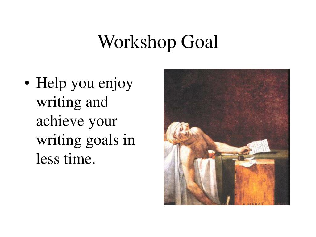 Help you enjoy writing and achieve your writing goals in less time.