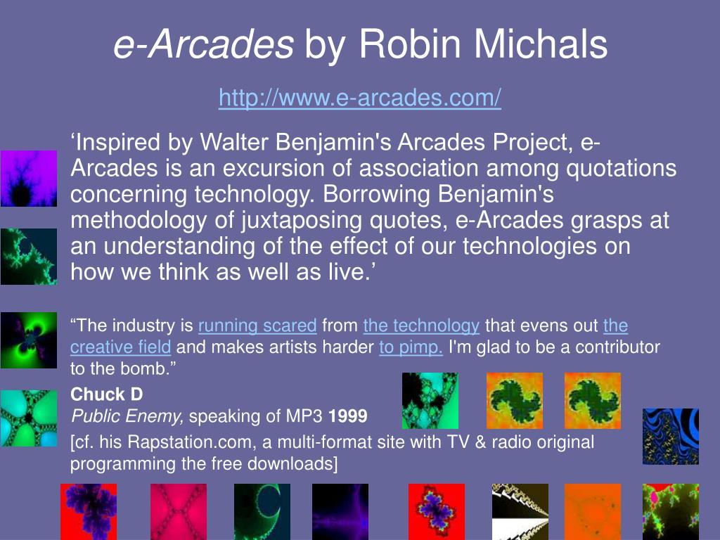 e-Arcades