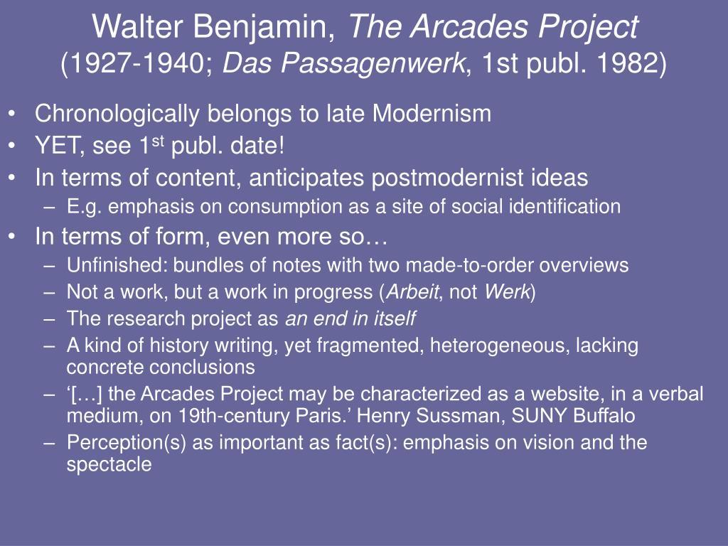 Walter Benjamin,
