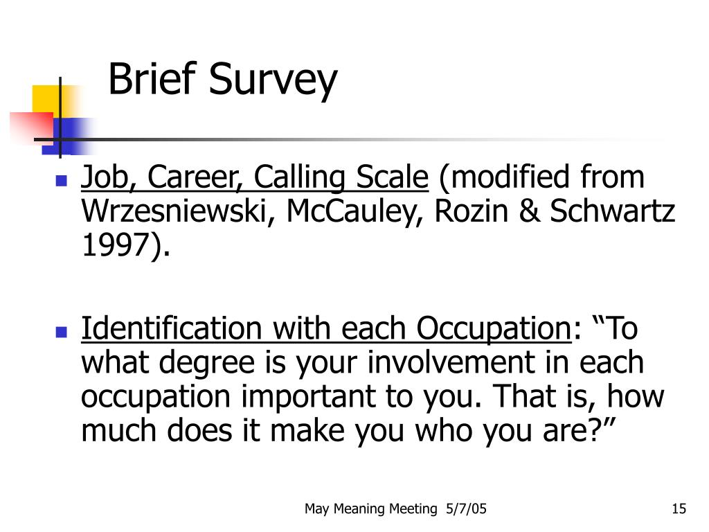Brief Survey