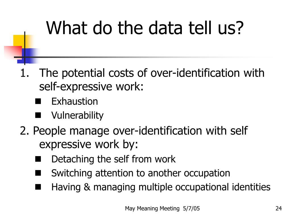 What do the data tell us?