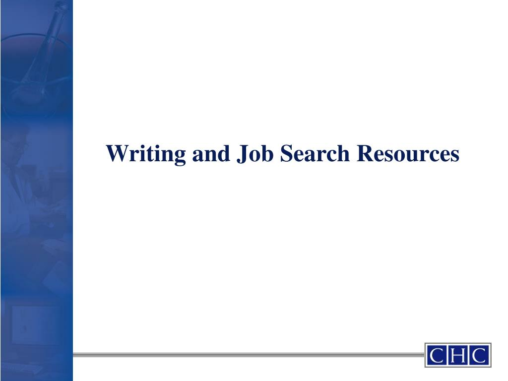 Writing and Job Search Resources