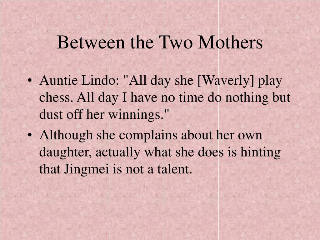 Between the Two Mothers