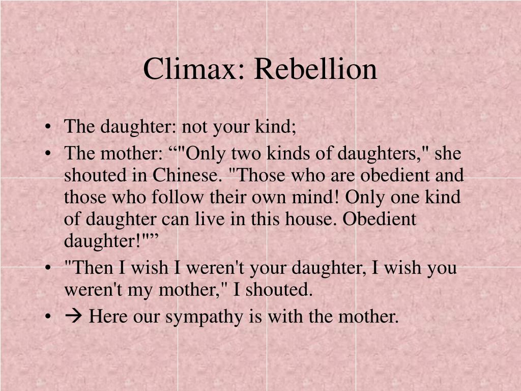 Climax: Rebellion
