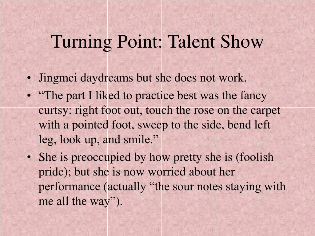 Turning Point: Talent Show