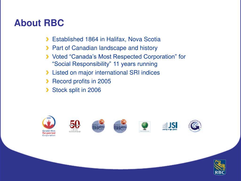 Established 1864 in Halifax, Nova Scotia