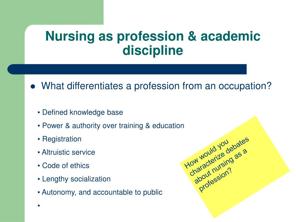 nursing as a profession Nursing is an emotionally fulfilling and rewarding career, and there are tangible benefits, too see why nursing might be the career for you.