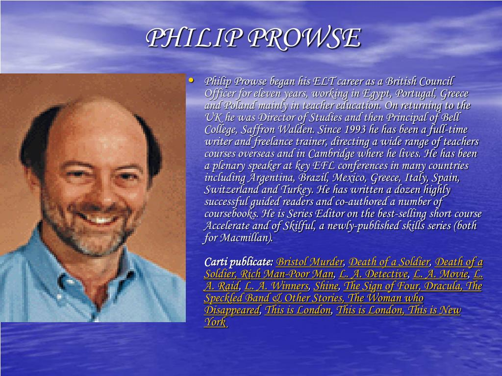 PHILIP PROWSE