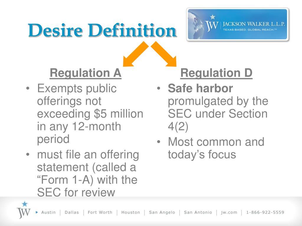 Regulation A