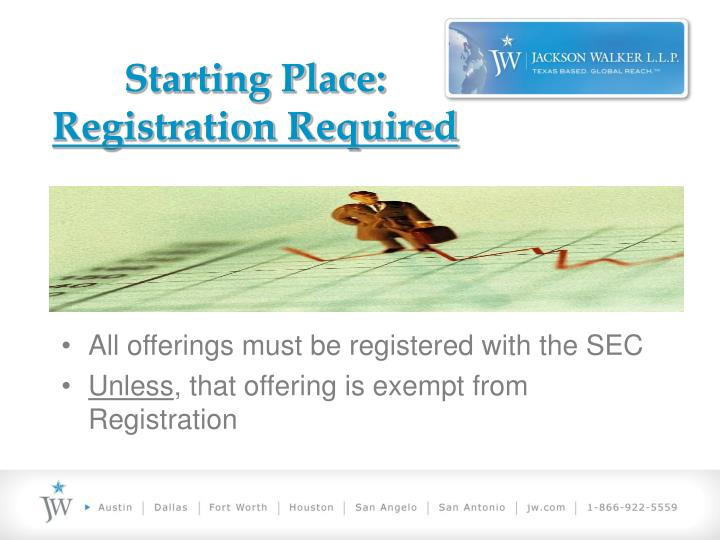 Starting place registration required l.jpg